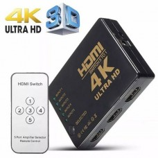 Adaptador Switch 3 Portas 4k Ultra Hd 3x1 3 Saídas Hdmi Hd Tomate