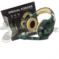 Headset Gamer Special Forces Color Series Jungle P3 Dazz