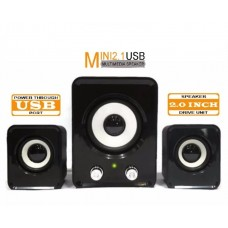 Mini Caixa de Som para Notebook 2.1  Speaker FT-202
