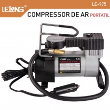 Mini Compressor Ar Automotivo 12v Lelong Le-975