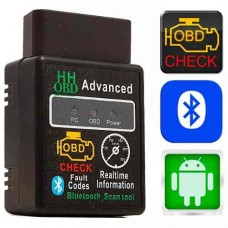 Mini Scanner Automotivo Obd2 Bluetooth Versão 2019