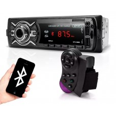 Som Automotivo Bluetooth 60w X4 Usb Sd Aux Quick Charge Knup KP-C30BH