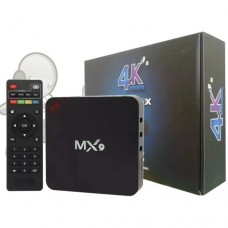 TV Box MX9 4K Ultra HD 4GB Ram + 32GB 5G Wi-Fi Android 10.1