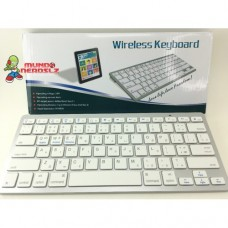 Teclado Wireless Bluetooth Sem Fio Tablet mac Ipad Pc BK 3001